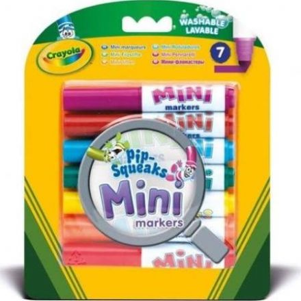 Crayola 7 Pack Pip-Squeaks Mini Markers